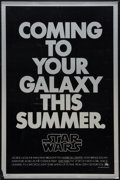 "Movie Posters:Science Fiction, Star Wars (20th Century Fox, 1977). One Sheet (27"" X 41"") SecondAdvance. Science Fiction.. ..."