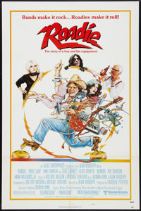"Roadie (United Artists, 1980). One Sheet (27"" X 41"") Style B and Lobby Card Set (11"" x 14""). Comedy..."