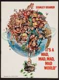 """Movie Posters:Comedy, It's a Mad, Mad, Mad, Mad World (United Artists, 1963). Program(Multiple Pages, 9"""" X 12""""). Comedy.. ..."""