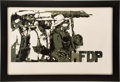 Political:3D & Other Display (1896-present), Mississippi Freedom Democratic Party: A Beautiful and Rare Silkscreened Poster from the 1964 Election. ...
