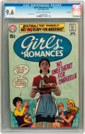 Bronze Age (1970-1979):Romance, Girls' Romances #147 Savannah pedigree (DC, 1970) CGC NM+ 9.6 Creamto off-white pages....