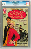 Bronze Age (1970-1979):Romance, Girls' Romances #155 Savannah pedigree (DC, 1971) CGC NM 9.4 Creamto off-white pages....