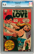 Silver Age (1956-1969):Romance, Young Love #72 Savannah pedigree (DC, 1969) CGC NM 9.4 Off-white towhite pages....