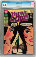 Bronze Age (1970-1979):Romance, Young Love #83 Savannah pedigree (DC, 1970) CGC NM 9.4 Off-white towhite pages....