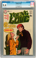 Silver Age (1956-1969):Romance, Young Love #77 Savannah pedigree (DC, 1969) CGC NM 9.4 Off-white towhite pages....