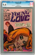 Bronze Age (1970-1979):Romance, Young Love #80 Savannah pedigree (DC, 1970) CGC NM 9.4 Whitepages....