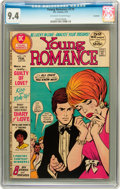 Bronze Age (1970-1979):Romance, Young Romance #179 Savannah pedigree (DC, 1972) CGC NM 9.4Off-white to white pages....
