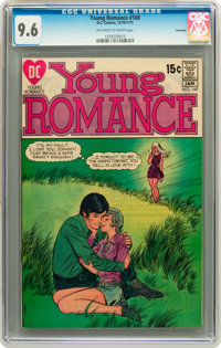 Young Romance #169 Savannah pedigree (DC, 1970) CGC NM+ 9.6 Off-white to white pages