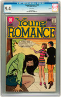 Bronze Age (1970-1979):Romance, Young Romance #168 Savannah pedigree (DC, 1970) CGC NM 9.4 Whitepages....