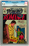 Bronze Age (1970-1979):Romance, Young Romance #164 Savannah pedigree (DC, 1970) CGC NM- 9.2 Whitepages....
