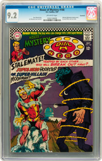 House of Mystery #168 Savannah pedigree (DC, 1967) CGC NM- 9.2 Off-white to white pages