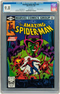 Modern Age (1980-Present):Superhero, The Amazing Spider-Man #207 (Marvel, 1980) CGC NM/MT 9.8 Whitepages....