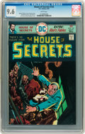 Bronze Age (1970-1979):Horror, House of Secrets #135 (DC, 1975) CGC NM+ 9.6 White pages....