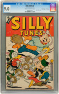 "Golden Age (1938-1955):Funny Animal, Silly Tunes #7 Davis Crippen (""D"" Copy) pedigree (Timely, 1947) CGCVF/NM 9.0 Cream to off-white pages...."