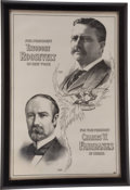 Political:Posters & Broadsides (1896-present), Theodore Roosevelt & Charles W. Fairbanks: PresidentialCampaign Poster....