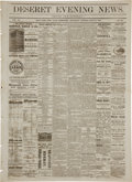 Miscellaneous:Newspaper, George Armstrong Custer: A Lurid and Fanciful Early Account ofLittle Big Horn, Published July 13, 1876 in the Salt Lake City ...