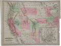 Miscellaneous:Maps, 1865 Map of the U.S. Territories and Pacific States....