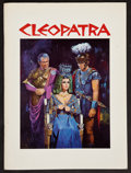 "Movie Posters:Historical Drama, Cleopatra (20th Century Fox, 1963). Program (52 Pages, 9.25"" X12.5""). Historical Drama.. ..."