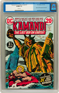 Kamandi, the Last Boy on Earth #1 (DC, 1972) CGC VF/NM 9.0 White pages