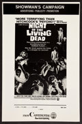 """Movie Posters:Horror, Night of the Living Dead (Continental, 1968). Uncut Pressbook (Four Pages 11"""" X 17""""). Horror.. ..."""
