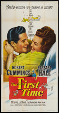 """Movie Posters:Comedy, The First Time Lot (Columbia, 1952). Three Sheets (3) (41"""" X 81""""). Comedy.. ... (Total: 3 Items)"""