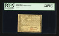 Colonial Notes:Rhode Island, Rhode Island July 2, 1780 $7 PCGS Very Choice New 64PPQ.. ...