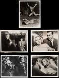 "Movie Posters:James Bond, From Russia with Love (United Artists, 1964). British Photos (5) (8"" X 10""). James Bond.. ... (Total: 5 Items)"