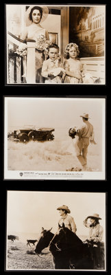 "Giant (Warner Brothers, 1956). US and British Photos (3) (8"" X 10"" and 7.75"" X 9.75""). Drama. ... (T..."