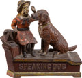 "Antiques:Toys, ""Speaking Dog"" Mechanical Bank...."