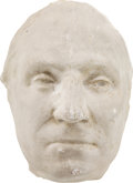 Political:Presidential Relics, George Washington: A Vintage Plaster Cast of His Life Mask by Jean-Antoine Houdon....