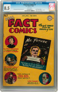 Golden Age (1938-1955):Non-Fiction, Real Fact Comics #3 (DC, 1946) CGC VF+ 8.5 White pages....