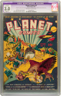 Golden Age (1938-1955):Science Fiction, Planet Comics #6 (Fiction House, 1940) CGC Apparent GD/VG 3.0Slight (A) Off-white to white pages....