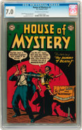 Golden Age (1938-1955):Horror, House of Mystery #3 (DC, 1952) CGC FN/VF 7.0 Off-white to whitepages....