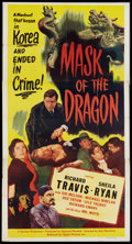 "Movie Posters:Crime, Mask of the Dragon (Lippert, 1951). Three Sheet (41"" X 81""). Crime.. ..."