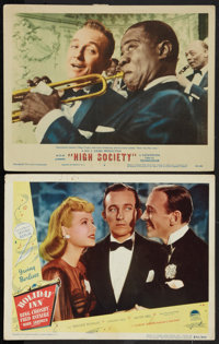 """Holiday Inn Lot (Paramount, R-1949). Lobby Cards (2) (11"""" X 14""""). Musical. ... (Total: 2 Items)"""