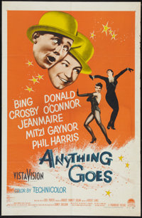 """Anything Goes (Paramount, 1956). One Sheet (27"""" X 41""""). Musical"""