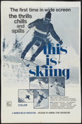 """Movie Posters:Sports, This is Skiing (General Film, 1972). One Sheet (27"""" X 42""""). Sports.. ..."""