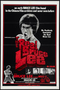 "Movie Posters:Action, The Real Bruce Lee (Cinematic, 1979). One Sheet (27"" X 41"").Action.. ..."