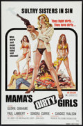 """Movie Posters:Crime, Mama's Dirty Girls (Premiere Releasing, 1974). One Sheet (27"""" X41""""). Crime.. ..."""