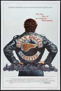 """Hell's Angels Forever (RKR Releasing, 1983). One Sheet (27"""" X 41""""). Exploitation"""