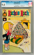 Bronze Age (1970-1979):Humor, Richie Rich #93 File Copy (Harvey, 1970) CGC NM/MT 9.8 Off-white towhite pages....