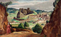 Paintings, PROPERTY FROM A PRIVATE COLLECTION, CALIFORNIA. LEON KROLL (American, 1884-1974). La Garde. Oil on canvas. 22-1/2 x 35...