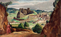 PROPERTY FROM A PRIVATE COLLECTION, CALIFORNIA  LEON KROLL (American, 1884-1974) La Garde Oil
