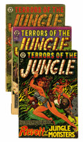 Golden Age (1938-1955):Horror, Terrors of the Jungle Group (Star Publications, 1953-54) ....(Total: 3 Comic Books)