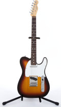 Musical Instruments:Electric Guitars, 1991/92 Fender Telecaster American Sunburst Electric Guitar#N1918836....