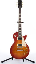 Musical Instruments:Electric Guitars, 1993 Gibson Les Paul Classic 1960 Sunburst Electric Guitar #31892....