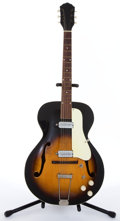 Musical Instruments:Electric Guitars, Circa 1950's KAY P4 Sunburst Archtop Electric Guitar #NA ...