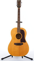 Musical Instruments:Acoustic Guitars, 1970's Gibson B-25 Natural Acoustic Guitar #962679...