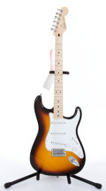 Musical Instruments:Electric Guitars, 2005 Fender New Old Stock Stratocaster Standard Sunburst ElectricGuitar #MZ5177953...
