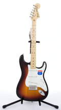 Musical Instruments:Electric Guitars, 2006 Fender USA New Old Stock Highway 1 Sunburst Electric Guitar#Z6265803 ...
